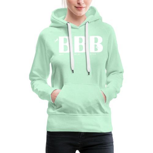 Best Belay Bitch - Frauen Premium Hoodie