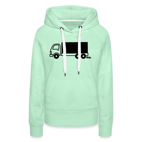 LKW lang - Frauen Premium Hoodie