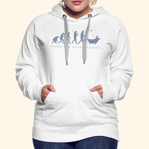 Kurstadt-Evolution BUNT - Frauen Premium Hoodie
