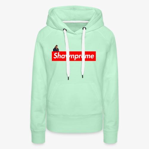 Shawnpreme logo Shawn - Dame Premium hættetrøje
