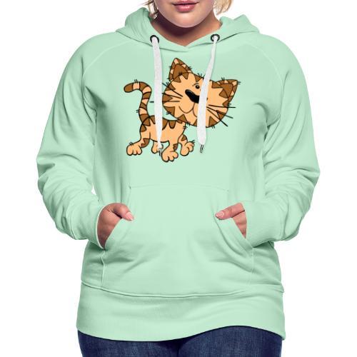 Cat - Frauen Premium Hoodie