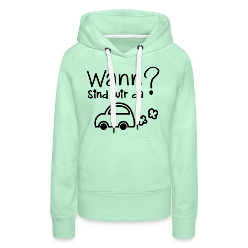 Reise-Shirt - Frauen Premium Hoodie