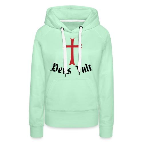 Deus Vult Cross - Vrouwen Premium hoodie