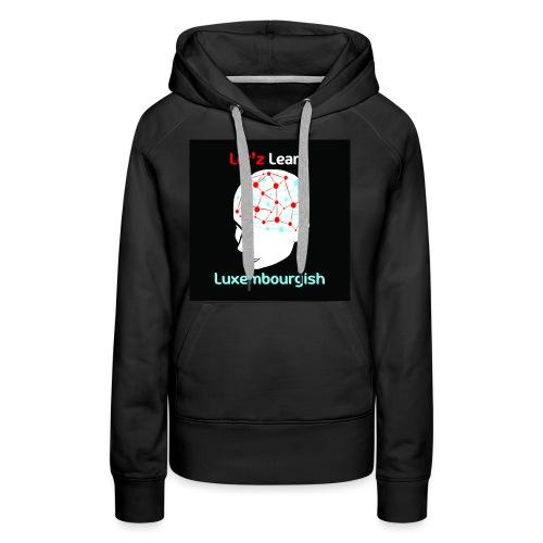 letzlearnlux(print) - Frauen Premium Hoodie
