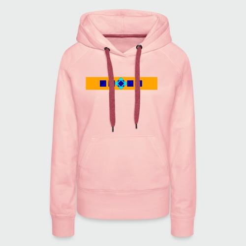 Flolo Schriftzug orange - Frauen Premium Hoodie