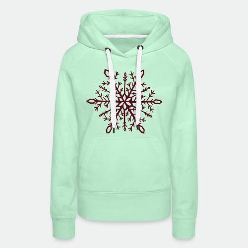 Snowflake mandala - Women's Premium Hoodie