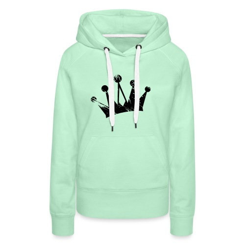 Faded crown - Women's Premium Hoodie
