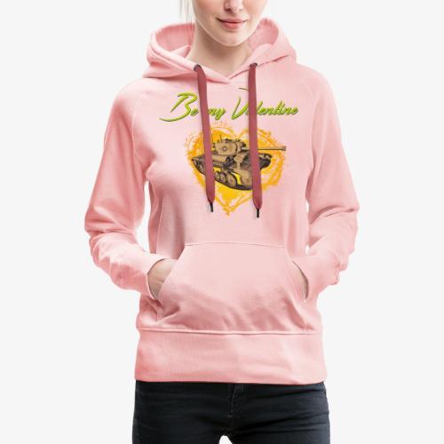 Glowing Valentine Heart - Frauen Premium Hoodie
