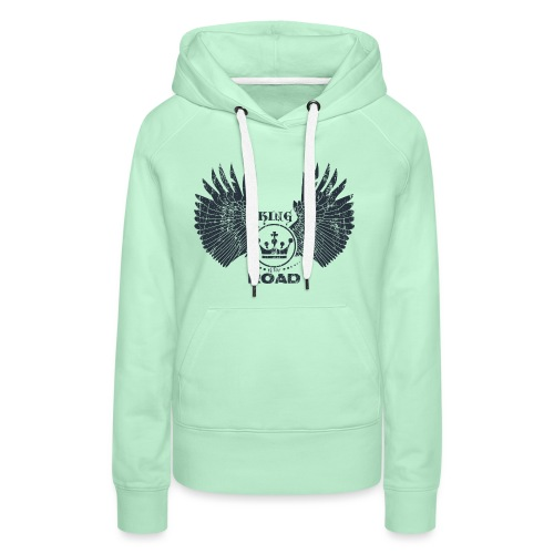 WINGS King of the road dark - Vrouwen Premium hoodie