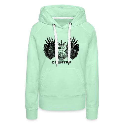 IH King of the country (black design) - Vrouwen Premium hoodie