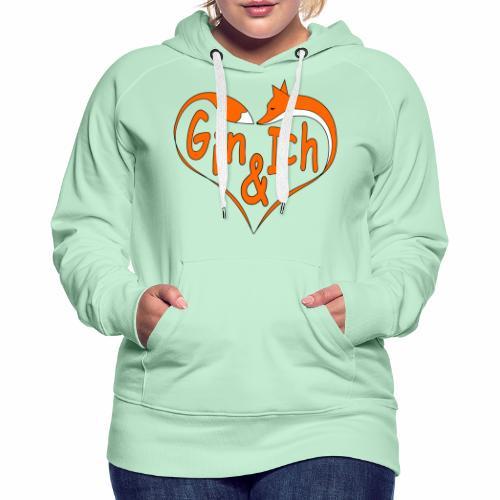Fuchs Herz - Fuchs-Spirituosen - Frauen Premium Hoodie