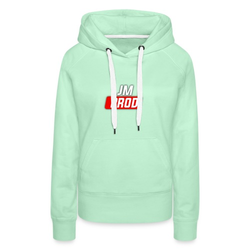 JM PROD - Sweat-shirt à capuche Premium pour femmes