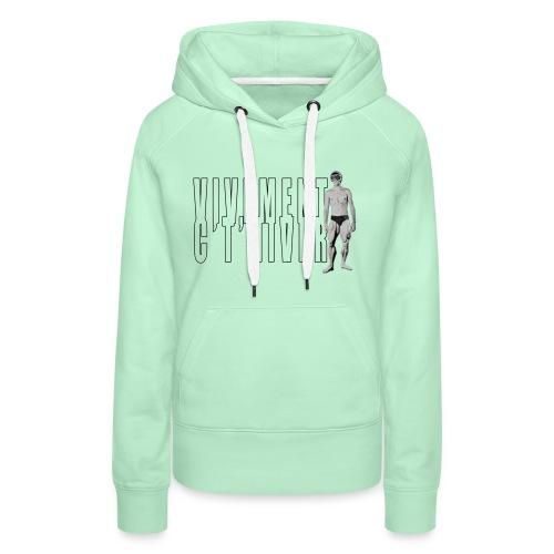 TELEMARK Vivement cet Hiver - Sweat-shirt à capuche Premium pour femmes