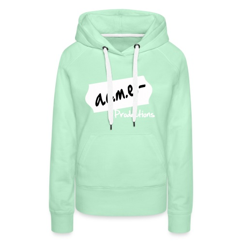 acmeproductionswhite - Frauen Premium Hoodie