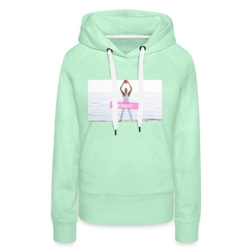 Be yourself - Frauen Premium Hoodie