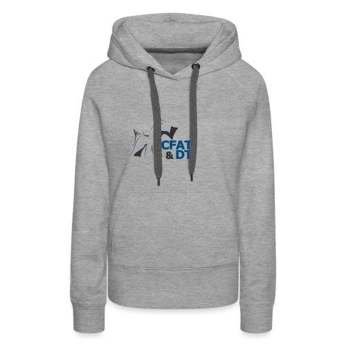 CFAT DT - Sweat-shirt à capuche Premium pour femmes