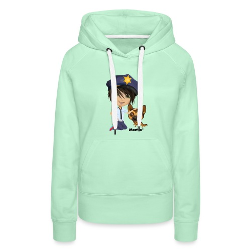 Jack and dog - av Momio Designer Cat9999 - Premium hettegenser for kvinner