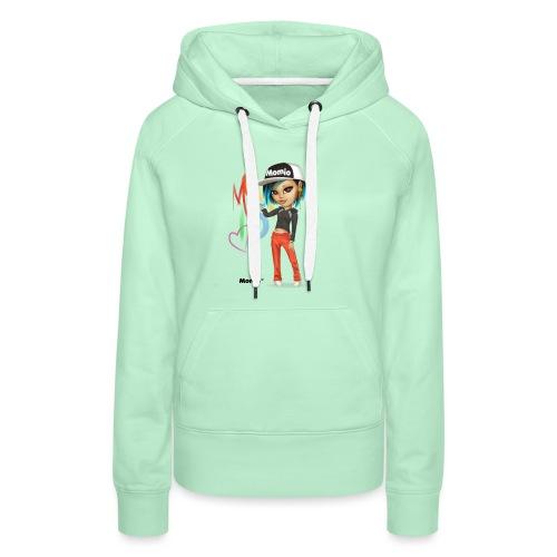 Maya - von Momio Designer Cat9999 - Frauen Premium Hoodie