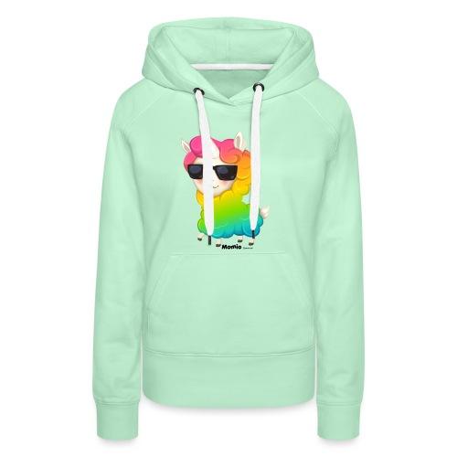Regenbogenanimation - Frauen Premium Hoodie