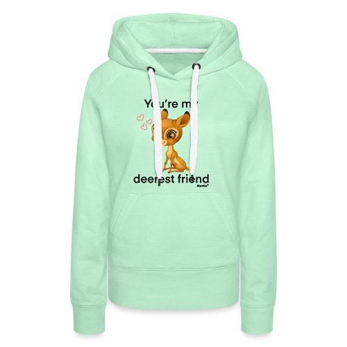 Deerest friend by Diamondlight - Premium hettegenser for kvinner
