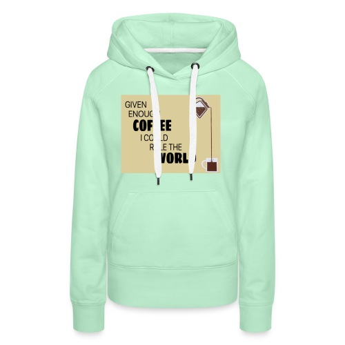 Coffee Champion - Women's Premium Hoodie