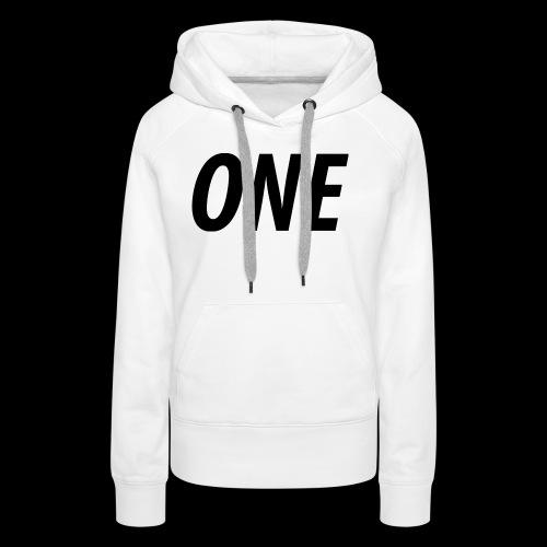 WEAREONE x LETTERS - Vrouwen Premium hoodie
