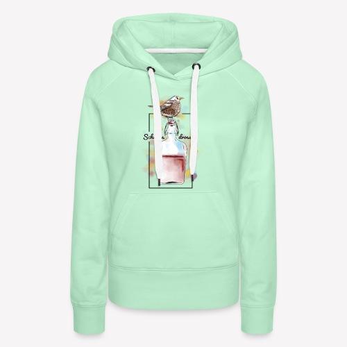 Schnapsdrossel - Frauen Premium Hoodie