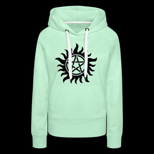 Supernatural Anti Possession - Sweat-shirt à capuche Premium pour femmes