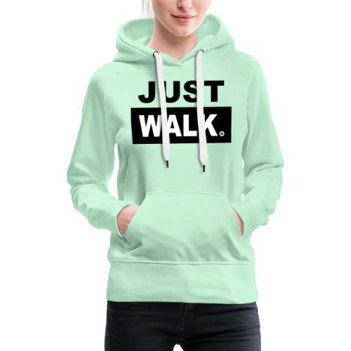 JUST WALK vrouwen colour - Vrouwen Premium hoodie