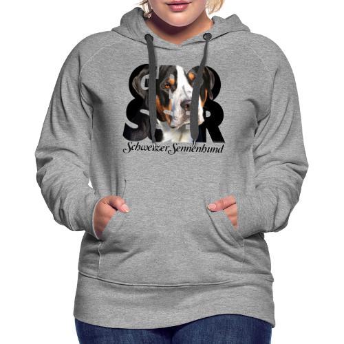 Grosser Schweizer Sennenhund Dark - Naisten premium-huppari