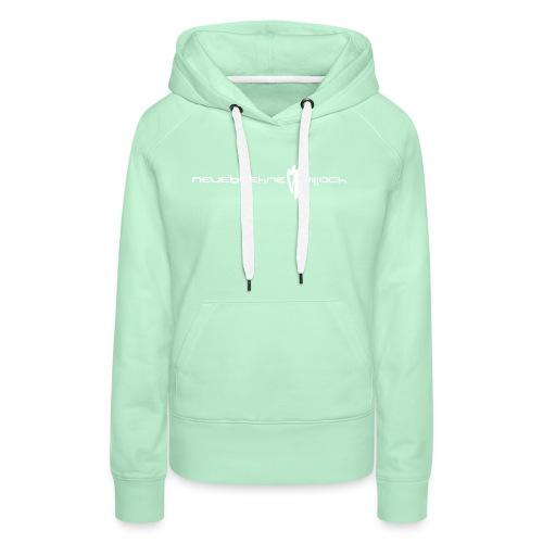 logo1farb - Frauen Premium Hoodie