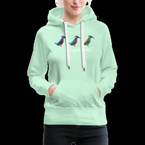 geweihbaer Vogelfrei - Frauen Premium Hoodie