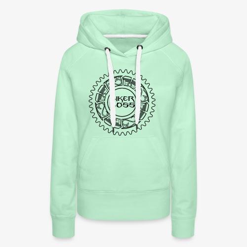 Bikerboss - Sweat-shirt à capuche Premium pour femmes
