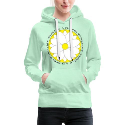 Flower World - Frauen Premium Hoodie