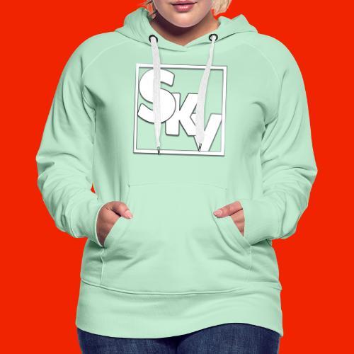 SerkanKetchupVlogs Logo (SKV Logo) - Vrouwen Premium hoodie