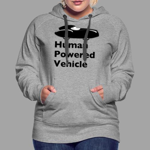 Quattrovelo Human Powered Vehicle black - Naisten premium-huppari