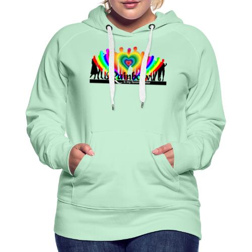 rainbow is my favorite color - Frauen Premium Hoodie