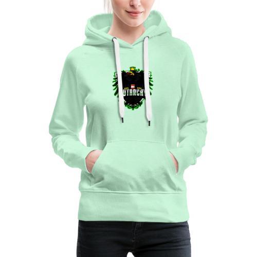 AUTarchy green - Frauen Premium Hoodie