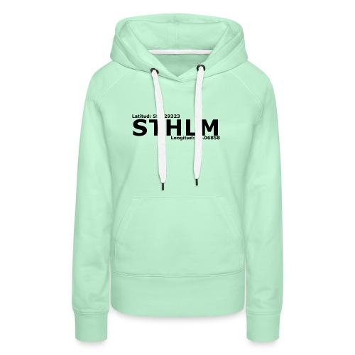 STHLM - Premiumluvtröja dam
