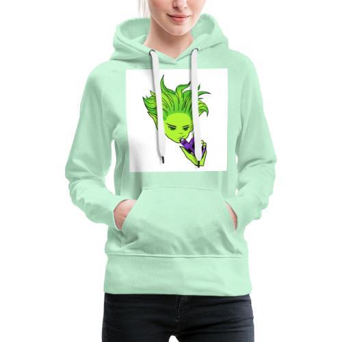 fairy vape store - Sweat-shirt à capuche Premium pour femmes