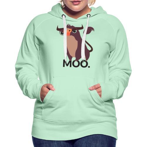 moo - Frauen Premium Hoodie