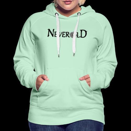 logo en ligne - Sweat-shirt à capuche Premium pour femmes