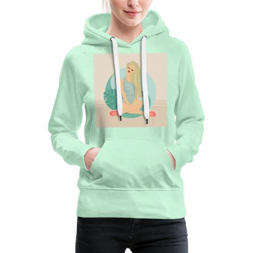 Dreamgirl Esther - Sweat-shirt à capuche Premium pour femmes