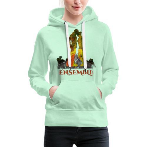 Ensemble -by- T-shirt chic et choc - Sweat-shirt à capuche Premium pour femmes