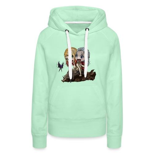 Amis d'Enfance - Sweat-shirt à capuche Premium pour femmes