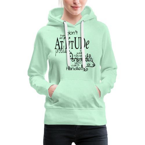 personality - Vrouwen Premium hoodie