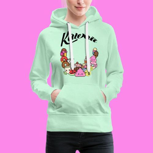 Kawaii - Süssigkeiten Sweets - Frauen Premium Hoodie