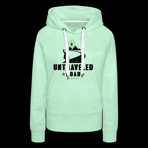 Untraveled Road Logo - black/small - Frauen Premium Hoodie