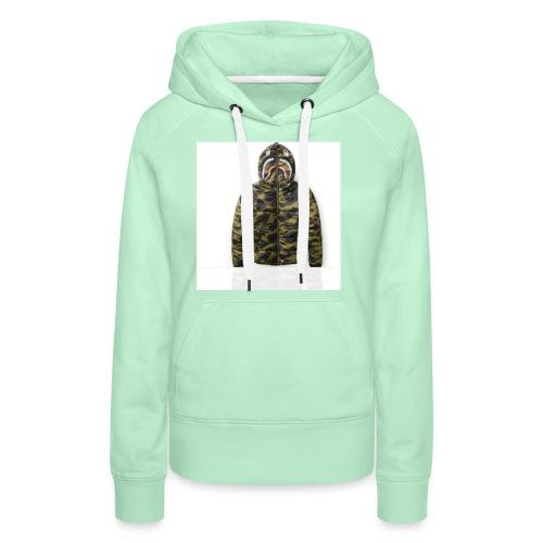 38AB183F FD38 4775 8761 1C85A6A9B467 - Sweat-shirt à capuche Premium pour femmes