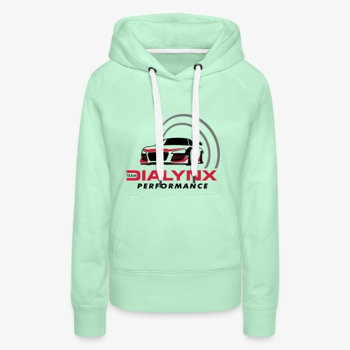 Dialynx Performance Race Team White Range - Women's Premium Hoodie